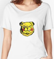 ROBUST BEAR PIKA INSIDE Women's Relaxed Fit T-Shirt