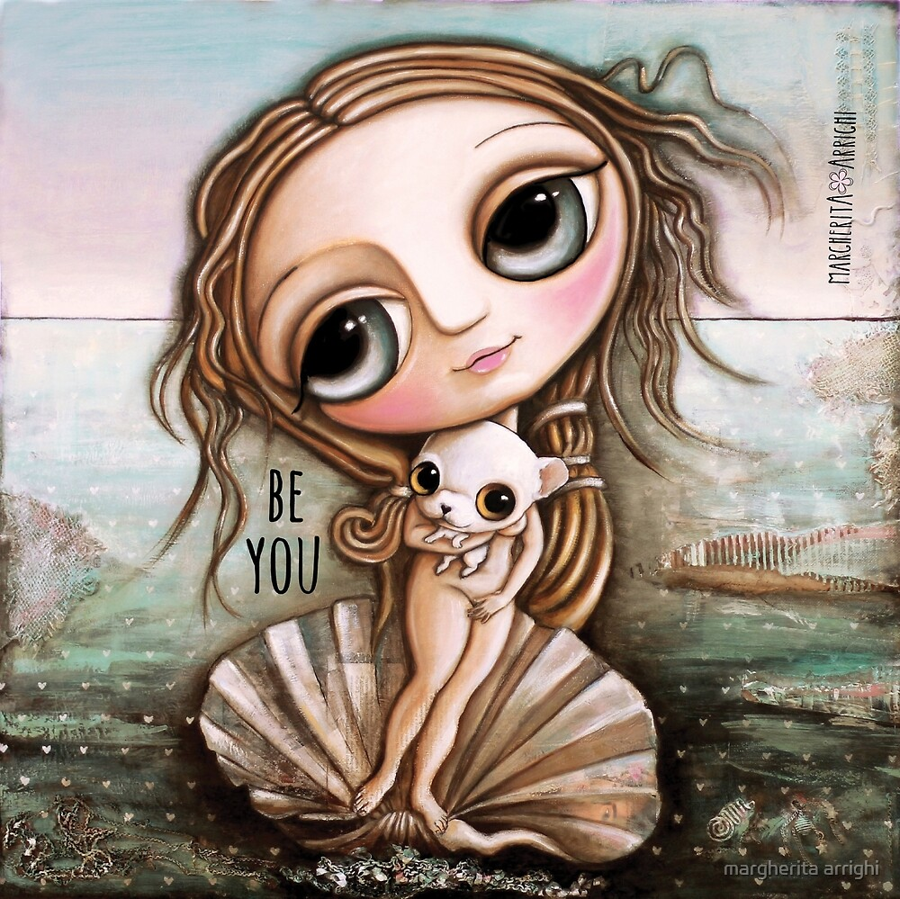 The birth of Venus and Chiwawa by margherita arrighi