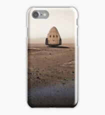 SpaceX Red Dragon On Mars iPhone Case/Skin