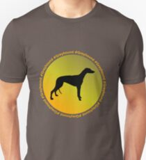 Greyhound Hashtag Unisex T-Shirt