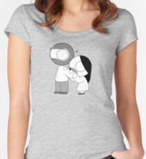Love Bite Women's Fitted Scoop T-Shirt