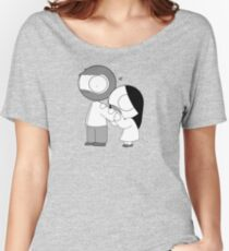 Morsure d'amour T-shirts coupe relax