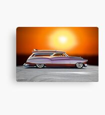 1950 Buick Custom Woody Wagon VII Canvas Print