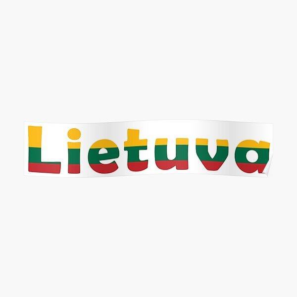 Lithuania - Lietuva Poster