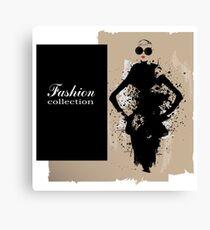 Fashion Collection Canvas Print