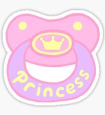 Princess Pacifier Sticker