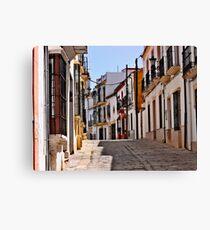 Spanish Streets - Ronda, Spain Canvas Print