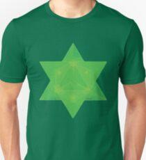 Emerald Tablets Inspired Star Tetrahedron Merkaba Unisex T-Shirt