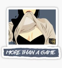 More Than a Game  Sticker