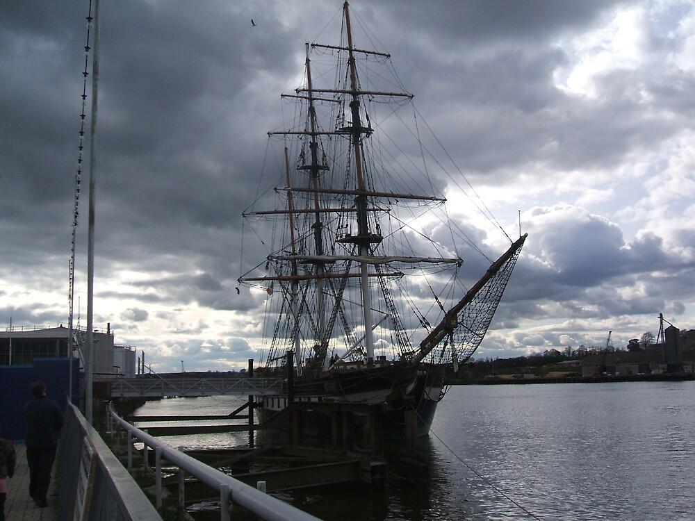 famine ship by pedanticnerd