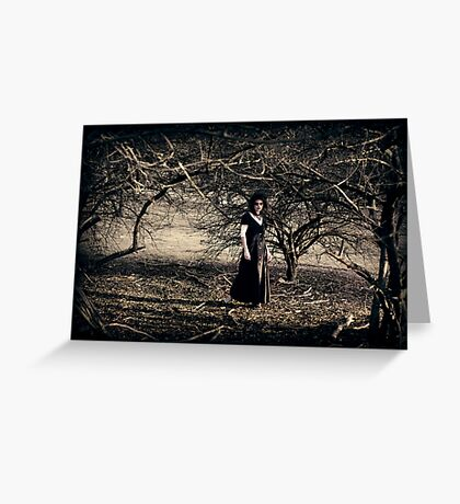 The Wooded Theatrette Greeting Card