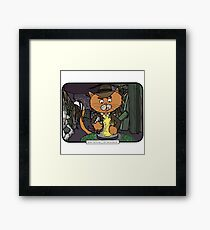 Mousers of the Lost Ark | @CatTheMovies Framed Print