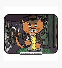 Mousers of the Lost Ark | @CatTheMovies Photographic Print