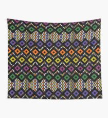 Funky color square Wall Tapestry