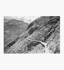 Inca path - Pisac, Peru Photographic Print