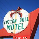 Route 66 - Cotton Boll Motel by Frank Romeo