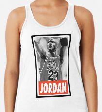-BASKETBALL- Michael Jordan Racerback Tank Top