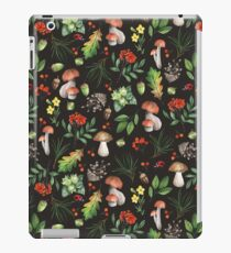 Forest. Brown pattern iPad Case/Skin