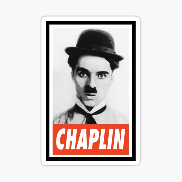 -LEGEND- Charlie Chaplin Sticker