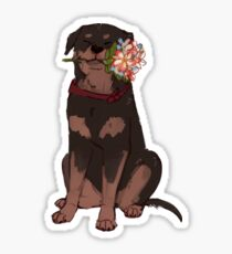 flower rex Sticker