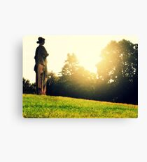 Crown Hill Cemetery, Indianapolis Canvas Print