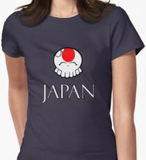 Japan National Tako-Chan Women's Fitted T-Shirt