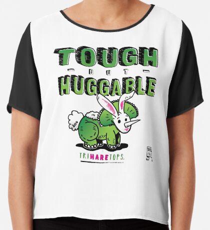 Tough but Huggable Chiffon Top