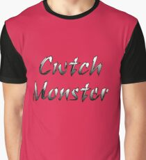 Cwtch Monster. Hugs and Cuddles Graphic T-Shirt
