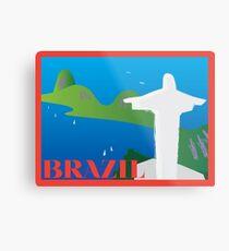 BRAZIL Metal Print