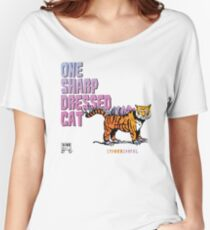 One Sharp Dressed Cat Women's Relaxed Fit T-Shirt