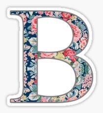 Beta - Floral Sticker