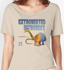 Extroverted Introvert Women's Relaxed Fit T-Shirt
