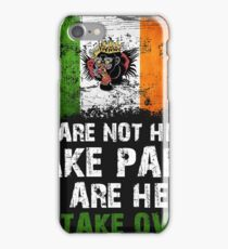 UFC Conor McGregor's Famous Takeover Line iPhone Case/Skin