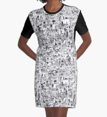 Gruvia moments Graphic T-Shirt Dress
