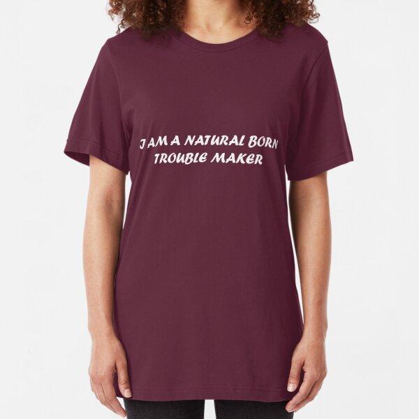 Fauteur de troubles Rebel Drôle Sarcasme Graphique À Manches Courtes T-shirt tees tshirts