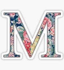 Mu - Floral Sticker