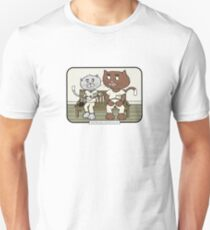 One Flew Over the Cat Bed | @CatTheMovies T-Shirt