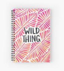 Wild Thing – Pink Ombré & Black Palette Spiral Notebook