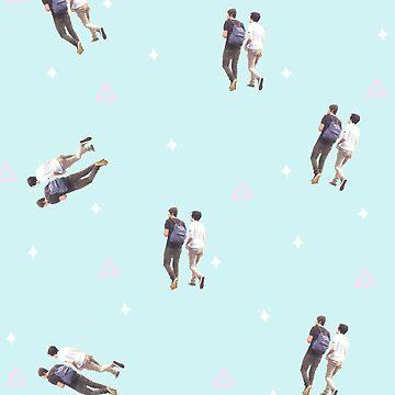 Dan & Phil Walking Pattern by shibuh