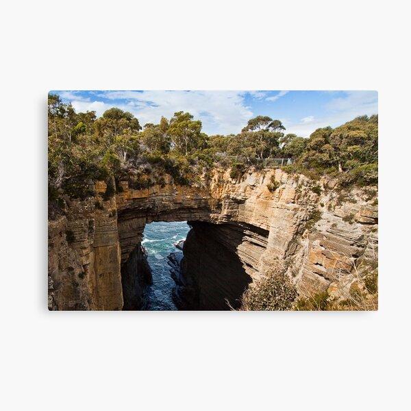 Tasman Arch and blowhole #2 Canvas Print