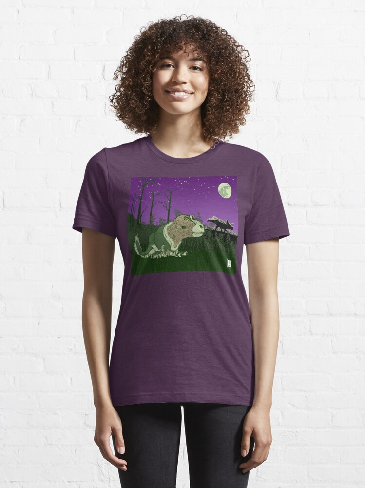 Alternate view of Moonlight Huntress Essential T-Shirt