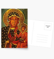 Black Madonna/Our Lady of Czestochowa Postcards