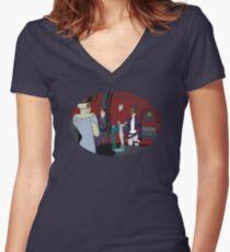 An Eye For An Eye Women's Fitted V-Neck T-Shirt