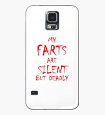 Silent But Deadly Case/Skin for Samsung Galaxy