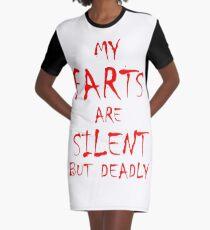 Silent But Deadly Graphic T-Shirt Dress