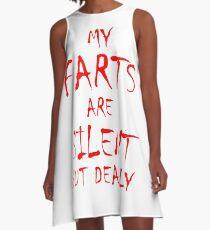 Silent But Deadly A-Line Dress