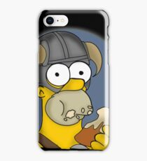 Homer Simpson - Sweet Roll iPhone Case/Skin