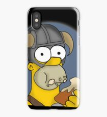 Homer Simpson - Sweet Roll iPhone Case/Skin