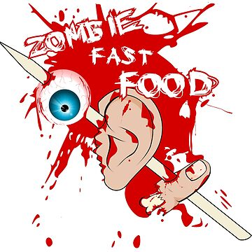 ZOMBIE FAST FOOD by tambelini