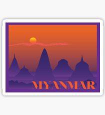 Myanmar Sticker